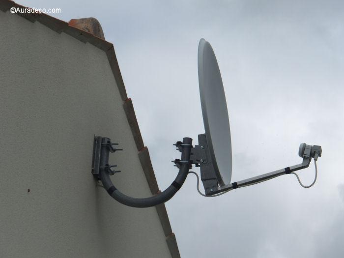 Comment installer une antenne parabolique - Comment installer une antenne tv exterieure ...