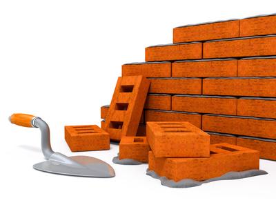 Construire un muret en brique
