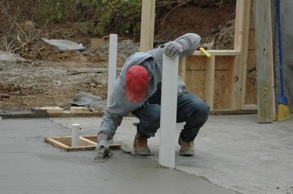 Comment niveler une dalle en b ton - Comment faire une dalle beton interieur ...