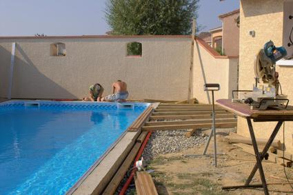 Construire sa terrasse for Construire terrasse beton